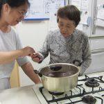 しそジュース作り-(2)